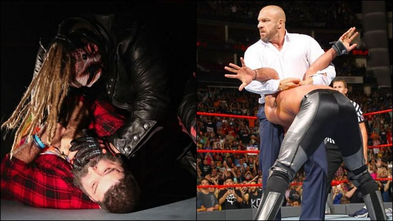 WWE legends have helped several current Superstars pick up some iconic finishers