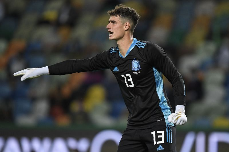 Kepa Arrizabalaga had an excellent game for Spain
