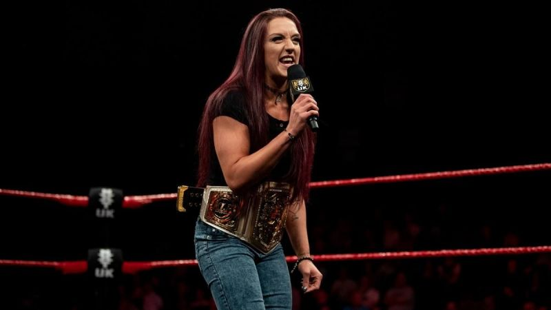 Kay Lee Ray is the reigning NXT UK Women