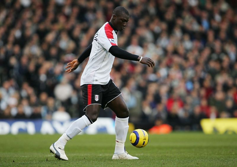 One of the tallest ever outfield players in the history of the league, Papa Diop.