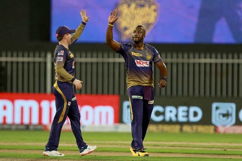 Andre Russell scored 16 runs and picked up 1 wicket against RCB last night (Credits: IPLT20.com)