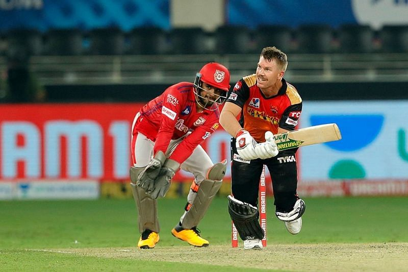 Will David Warner bounce back into form against KXIP today?