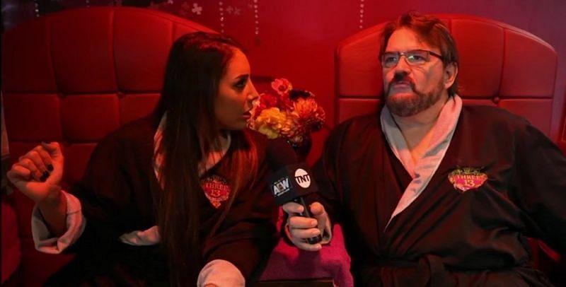 AEW announcer Tony Schiavone has become the perfect foil for Dr. Britt Baker