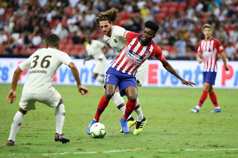 Partey has shown that he can keep the ball under pressure