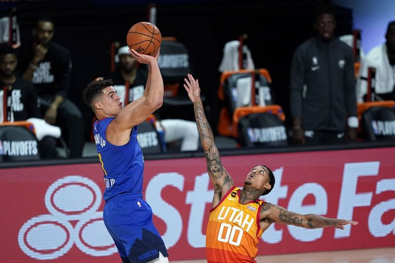 Michael Porter Jr. is our small forward for the Denver Nuggets.