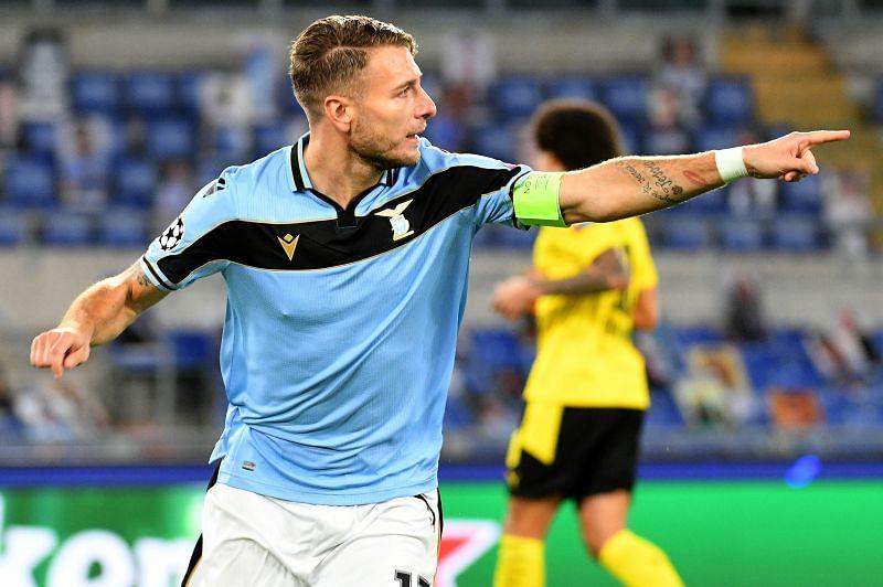 SS Lazio striker Ciro Immobile