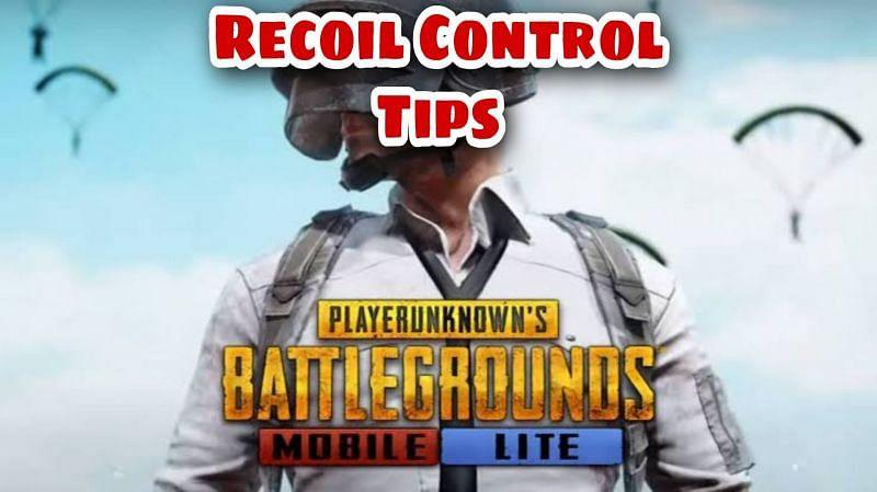 Recoil control tips in PUBG Mobile Lite