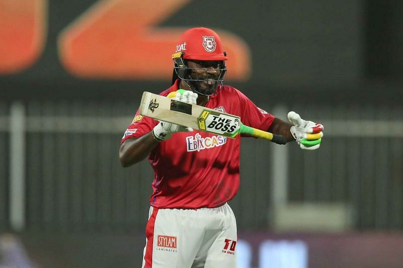 Chris Gayle was on fire a KXIP.