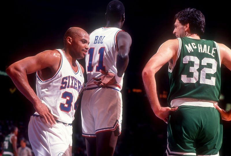 Charles Barkley and Kevin McHale are two of the greatest power forwards in the history of the NBA.