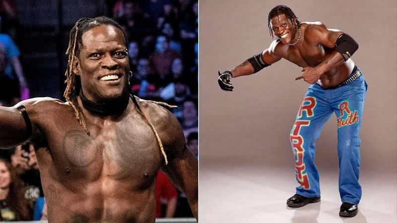 R-Truth (left); Little Jimmy and R-Truth (right)