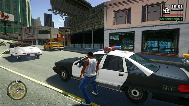 GTA San Andreas presented one of the best virtual playgrounds in the history of gaming that was ripe for modding (Image Credits: GamingAbsolute, YouTube)