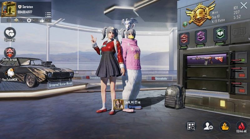 Athena Gaming's PUBG Mobile ID