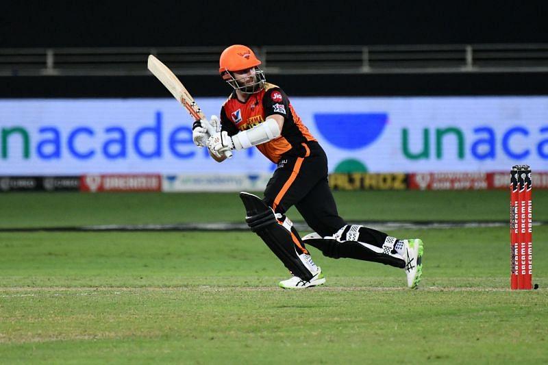 Kane Williamson top-scored for Sunrisers Hyderabad against CSK [P/C: iplt20.com]