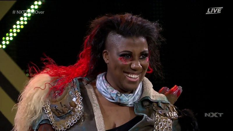 Ember Moon is back in NXT!