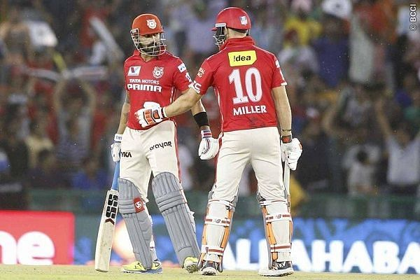 Murali Vijay was named KXIP skipper after David Miller was sacked in 2016.