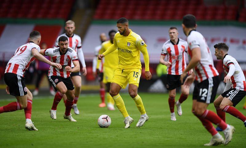 Ruben Loftus-Cheek in action for Fulham