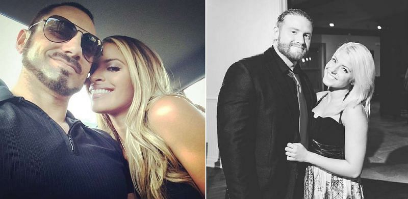 Many current female WWE stars were once in relationships with co-workers