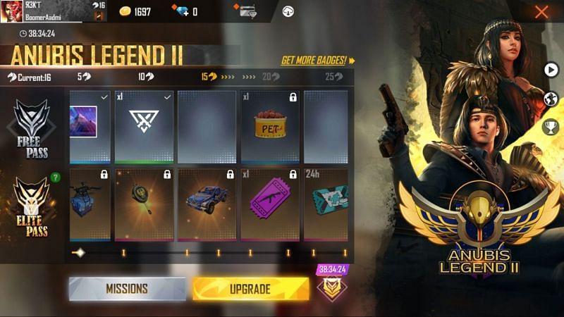 Free Fire Elite Pass Season 29 (Current Elite Pass)