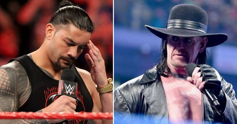 Roman Reigns and The Undertaker