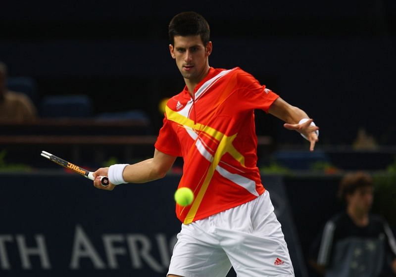 Novak Djokovic at the 2007 Paris Masters