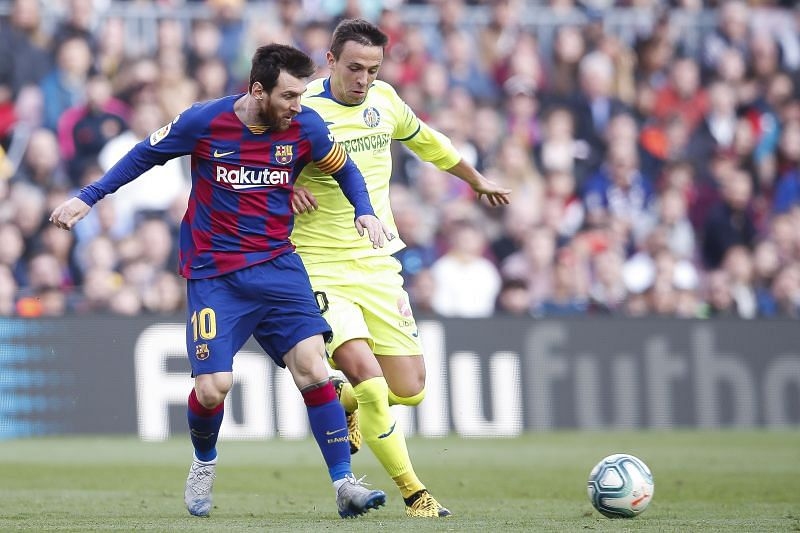Barcelona take on Getafe this weekend
