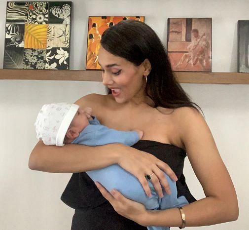 मयंती लैंगर ने अपने बेटे के साथ सोशल मीडिया पर खूबसूरत तस्वीर शेयर की