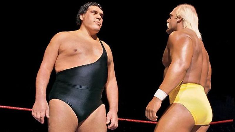 Hulk Hogan retained his WWE Championship against Andre The Giant
