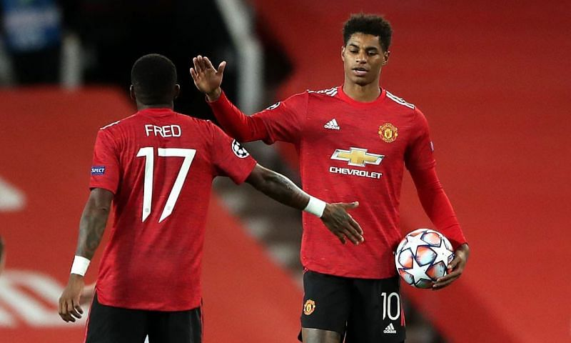 Marcus Rashford netted his first career hat-trick against RB Leipzig in the Champions League