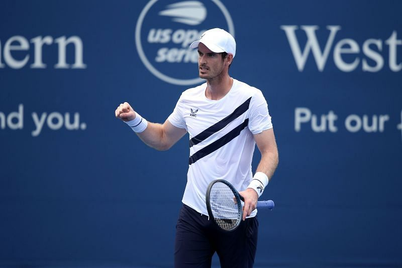 Andy Murray at the 2020 Western & Southern Open
