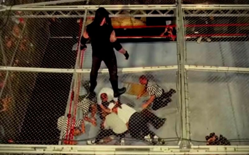 This is one of the most famous WWE matches of all time