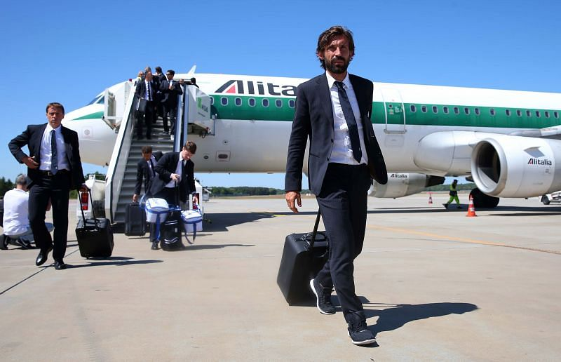 Juventus manager Andrea Pirlo is willing to let go of Sami Khedira
