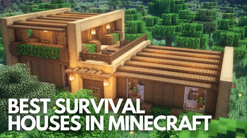 5 Best Survival Houses In Minecraft 2020