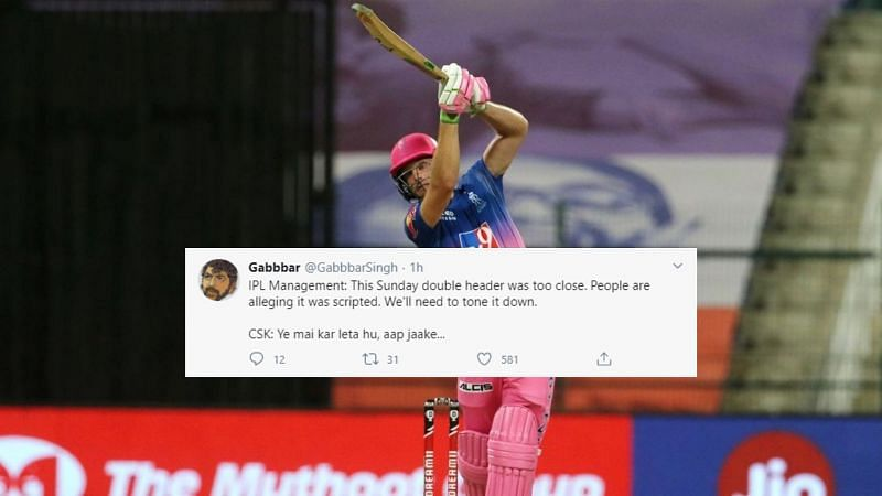 The Rajasthan Royals beat the Chennai Super Kings by seven wickets in Match 37 of IPL 2020.