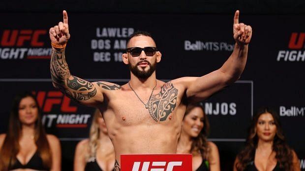 UFC welterweight contender Santiago Ponzinibbio charting comeback in 2020