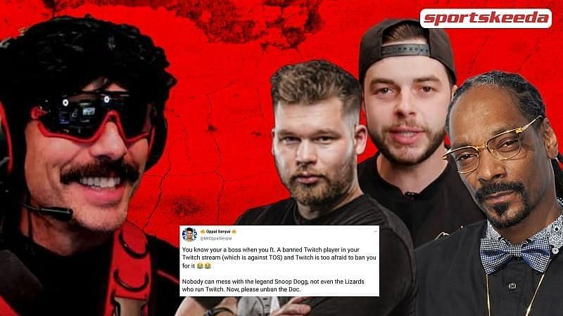 Dr DisRespect recently featured in Nadeshot