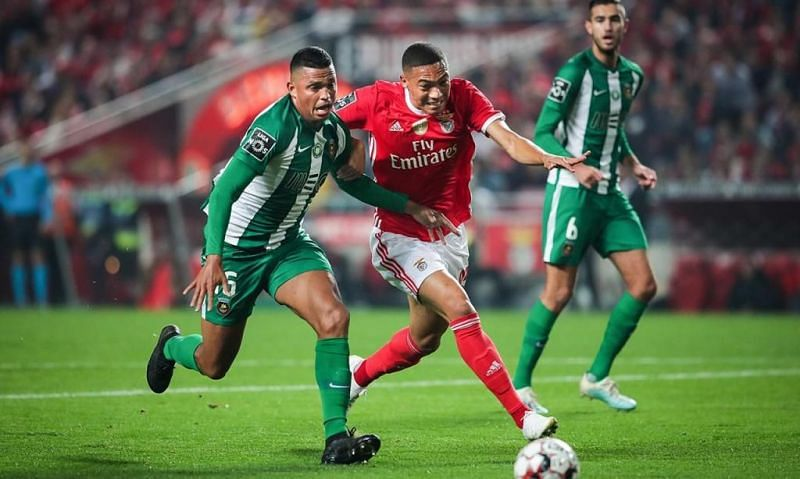 Primeira Liga leaders Benfica travel to northern Portugal to face Rio Ave in league action