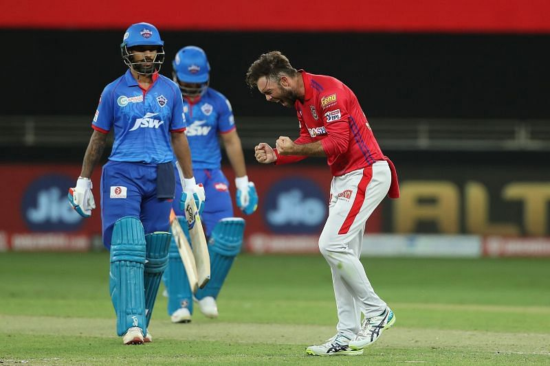 Glenn Maxwell the bowler has come to the fore in recent games for KXIP [PC: iplt20.com]