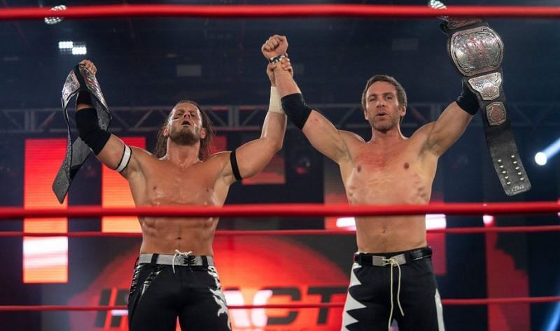 Chris Sabin is currently one-half of the IMPACT World Tag Team Champions