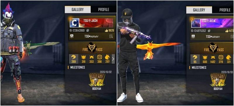 Two-Side Gamers (TSG) Real Names, Free Fire IDs, ranks, stats and more