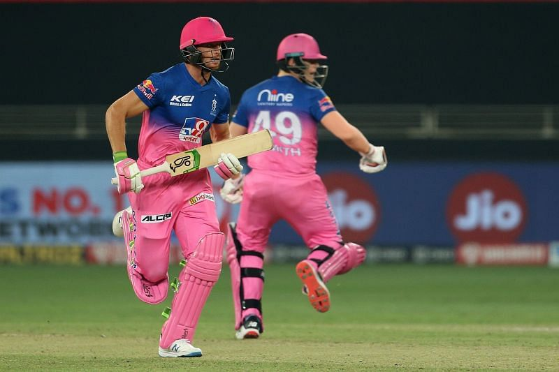Jos Buttler missed out on a great chance to finish the game well for RR. [PC: iplt20.com]