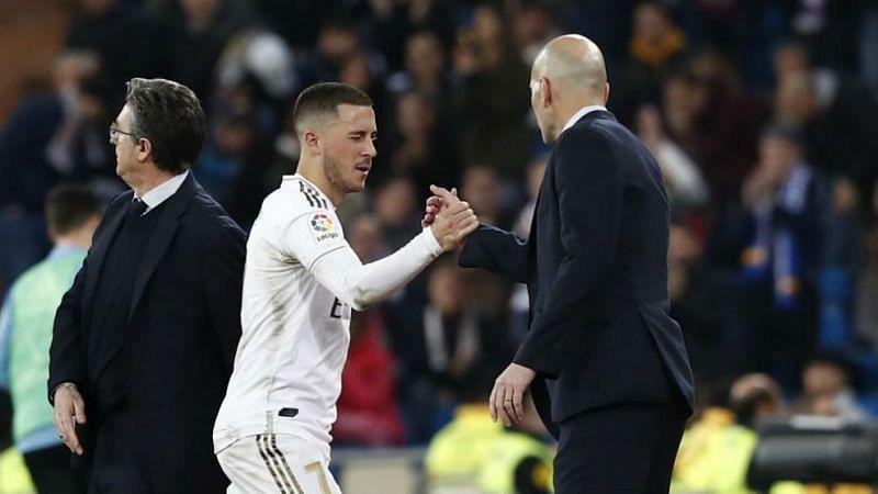 Zinedine Zidane shed light on Eden Hazard