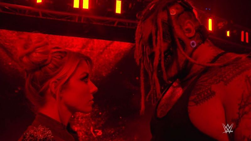 The tension between Alexa Bliss and The Fiend just keeps increasing on WWE SmackDown