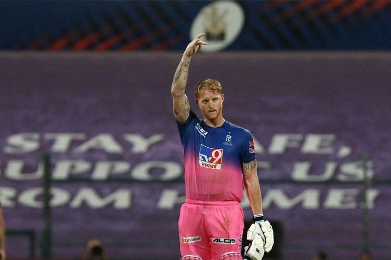 Ben Stokes scored a match-winning unbeaten century for the Rajasthan Royals [P/C: iplt20.com]