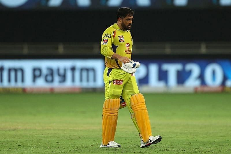 MS Dhoni struggled against Sunrisers Hyderabad recently