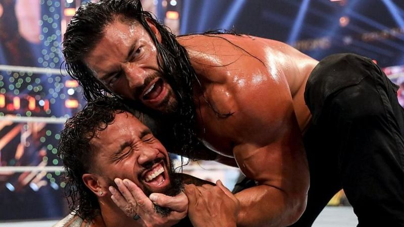 Roman Reigns was brilliant in this match against Jey Uso