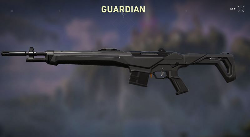 Icebox will be a Guardian and Vandal meta (Screen Grab from Valorant Store)
