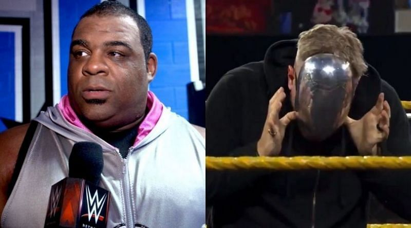 Keith Lee, the masked man on NXT