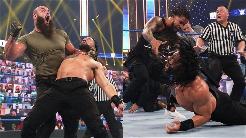 WWE SmackDown had some mixed brand matches to give the Superstars a fitting farewell