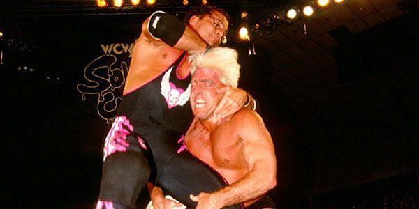 Bret Hart takes a sly shot at The Nature Boy Ric Flair