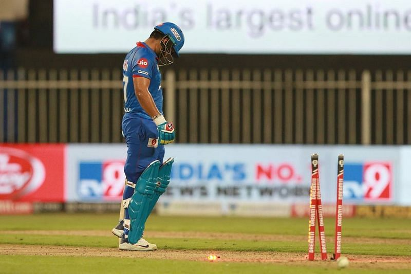 Rishabh Pant was run out in embarrassing fashion [PC: iplt20.com]